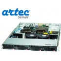 ARRIENDO RACK ARTEC 1U DUAL XEON SILVER 4110 - 32GB-2TB-2PS