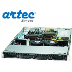 ARRIENDO RACK ARTEC 1U XEON E3 (AS1S-1220H04SA) 8GB/4X1TB