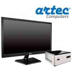 DESKTOP ARTEC NUC Core i3 Silver (500HD-WP-M19)