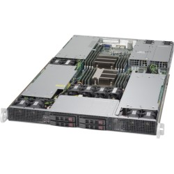 RACK ARTEC 1U DUAL XEON E5 2.4 (AS1R-C612H04SA-GPU) 128GB / 4 SSD 960GB
