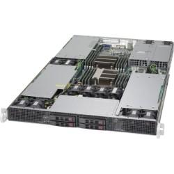 RACK ARTEC 1U DUAL XEON E5 3.4 (AS1R-C612H04SA-GPU) 128GB/ 3.8TB / 2 K20m