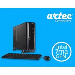 DESKTOP ARTEC NETIVOT I3 7MA SILVER (CPU)