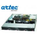 RACK ARTEC 1U DUAL XEON E5 (AS1R-C612H04SA) 16GB/4X1TB