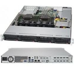 RACK ARTEC 1U XEON BRONZE 3104 - 16GB-480SSD+1TB-1PS