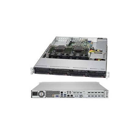 RACK ARTEC 1U XEON BRONZE 3106 - 16GB-2TB-1PS