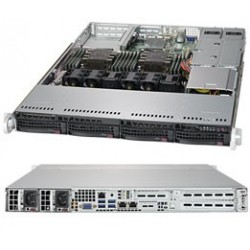 RACK ARTEC 1U DUAL XEON BRONZE 3106 - 64GB-1TB-2PS