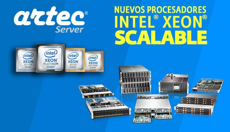 Servidores Supermicro con procesadores Intel Xeon Scalable