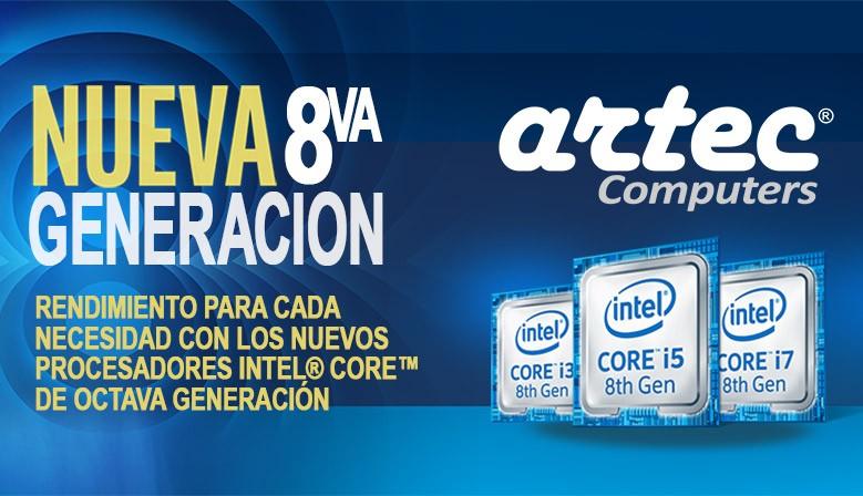 Computadores ARTEC 8va Generacion